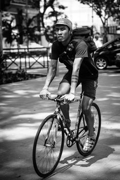 I do street photography along Orchard Road weekly to practice regularly. Cut Out People, Bike Messenger, Fixed Gear Bike, Bike Life, Street Photography, Cycling, Geometry, Punk, Style