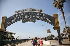 Planning a to Santa Monica? Check out these tips on how to spend the day once you arrive. Free Things To Do, Beach Look, Outdoor Camping, Santa Monica, So Little Time, The Good Place, Surfing, Road Trip, Street View