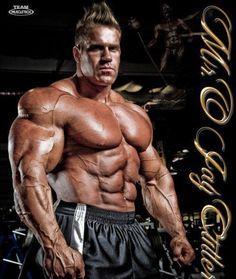 Jay Cutler, one of the best bodybuilders in the world!