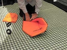 How to roll up a Self Inflating Mat