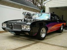Blown 442 Cutlass