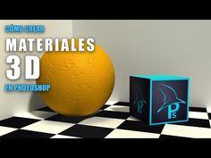 Cómo crear y editar materiales 3D en Photoshop - YouTube
