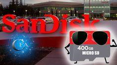 A empresa de tecnologia Sandisk criou o maior cartão Micro SD já existente no mercado. 400 GB de espaço. Acesse: https://youtu.be/ZVaovKARD3I