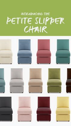 Already eyeing your fall decor for your dining room or living room? Maybe a Petite Slipper Chair is the chic extra seating you need in your home for those future diner parties and the holidays (that are already around the corner!).