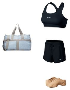 """Jazz ootd"" by sarahbear112 ❤ liked on Polyvore featuring NIKE, LeSportsac and Bloch"