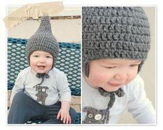 Crochet Baby Gnome Hat