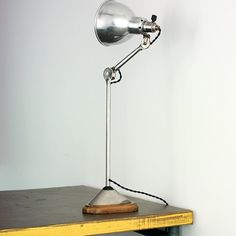 Gras lamp 206 Le Corbusier-Perriand-Jeanneret table merci à Lamp, Desk Lamp, Decor, Lighting, Interior, Diy And Crafts, Home Decor