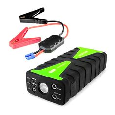 Gooloo 450a Peak Portable Car Jump Starter 10000mah Phone Power Bank