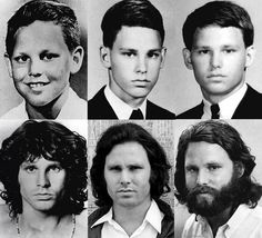 Jim Morrison - The Changeling. The metamorphosis of a child into a man.