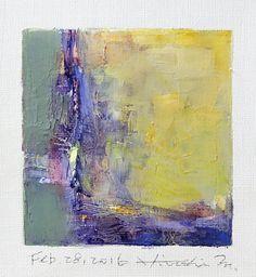https://flic.kr/p/E3wEoB | feb282016 | Oil on canvas  9 cm x 9 cm  © 2016 Hiroshi Matsumoto www.hiroshimatsumoto.com