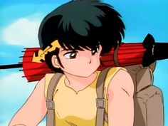 """Ryoga Hibiki (響 良牙, Hibiki Ryōga) is Ranma Saotome's eternal rival, the only one he has outright stated to truly consider as such, arguably the tritagonist, and one of the most powerful fighters in the series. The name """"Ryoga"""" can be broken down to read as """"good fang,"""" which refers to the fact that he possesses rather prominent canines. Hibiki is translated as """"to echo"""" or """"to resound."""""""