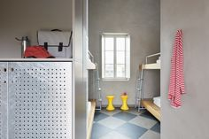 Combo • Milano - More than a hostel • Combo Banisters, Industrial Loft, Hostel, Storage, Furniture, Home Decor, Purse Storage, Decoration Home, Industrial Loft Apartment
