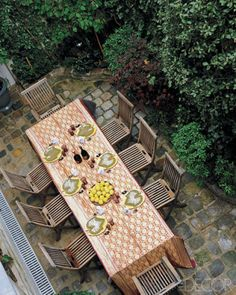 Dinner Table Overhead View : House Plans on Pinterest  Traditional Exterior, Shed Dormer and ...