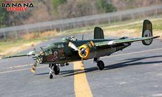 Super B-25 Mitchell Bomber RC Warbird Airplane - Radio Controlled Super B-25 Mitchell Bomber Military Plane - RC