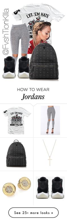 """Untitled #195"" by fvshtionkilla on Polyvore featuring NIKE, Tiffany & Co., Michael Kors and MCM"