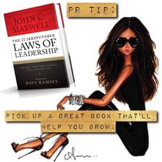 """Pick up a great book that will help you grow as a professional. Reading creates knowledge and knowledge is power. Our CEO LOVES John C. Maxwell's """"The 21 Irrefutable Laws of Leadership."""" And you? What's on your must-read list? We would love more recommendations! . #PRTip #Tuesday #Tips #Books #Read"""