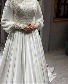 Plus Wedding Dresses, Muslim Wedding Dresses, Muslim Dress, Elegant Wedding Dress, Bridal Dresses, Wedding Gowns, Girls Dresses, Hijab Dress Party, Hijab Evening Dress