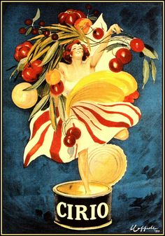 vintage poster for Cirio canned foods, Leonetto Cappiello