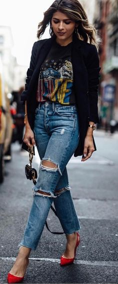perfect street style outfit idea