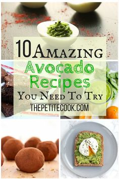 These amazing and creative avocado recipes will give you a tons of fun new ways to use this superfood!