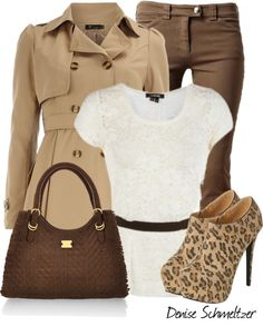"""Leopard Booties"" by denise-schmeltzer on Polyvore"