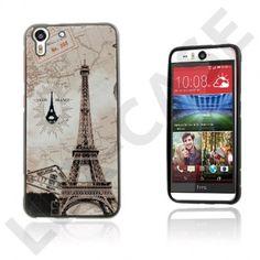 Westergaard HTC Desire Eye Deksel – Eiffel Tårn And verdens kart Iphone, Eyes, Cat Eyes, Snow