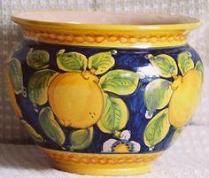 Image result for blue lemons italian planter