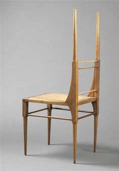 Chair designed by Edward William Godwin, 1885