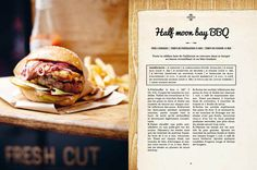 Cantine California by Claire Guigal, via Behance