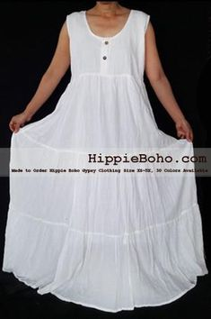 Summer Clothes Bohemian - No 459 Plus Size White Cotton Maxi Long Dress Bohemian Summer Clothing Tiered Full Length Women's Dress Hippie Boho Gypsy Style Bohemian Summer, Boho Hippie, Boho Gypsy, Bohemian Mode, Gypsy Style, Hippie Style, Modern Hippie, Gauze Clothing, Bohemian Style Clothing