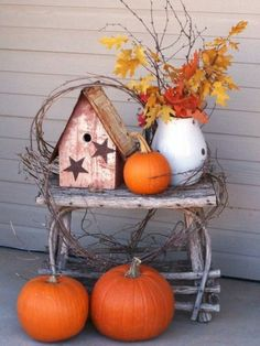 its hotter than hell outside right now I am getting excited for fall decorations.may have to try this by the back door :)although its hotter than hell outside right now I am getting excited for fall decorations.may have to try this by the back door :) Door Design, House Design, Romantic Room Decoration, Fall Planters, Warm Blankets, Back Doors, Front Door Decor, Outdoor Decor, Fall Decorations