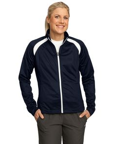Looking for Sport-Tek - Ladies Tricot Track Jacket. - True Navy/White - M ? Check out our picks for the Sport-Tek - Ladies Tricot Track Jacket. - True Navy/White - M from the popular stores - all in one. Wholesale T Shirts, Jackets For Women, Clothes For Women, Jackets Online, Norman Reedus, Shirt Shop, Active Wear For Women, Navy And White, Winter Jackets