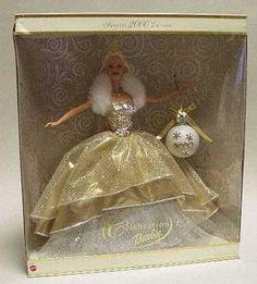 2000 holiday barbie