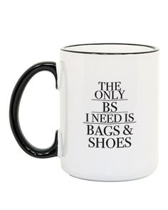 Bags and Shoes Coffee Mug from The Shopping Bag