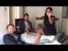 Veena Malik & Vesa Kivinen meet Luv Asia Radio's Dav Singh