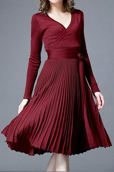 Cupshe Dance of Elegance Sweater Dress