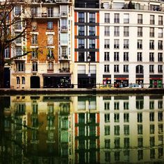 #city #water #channel #reflection  Image credit: Kosmas Vidos