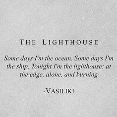 The Lighthouse -Vasiliki (Instagram: vasiliki_poetry)