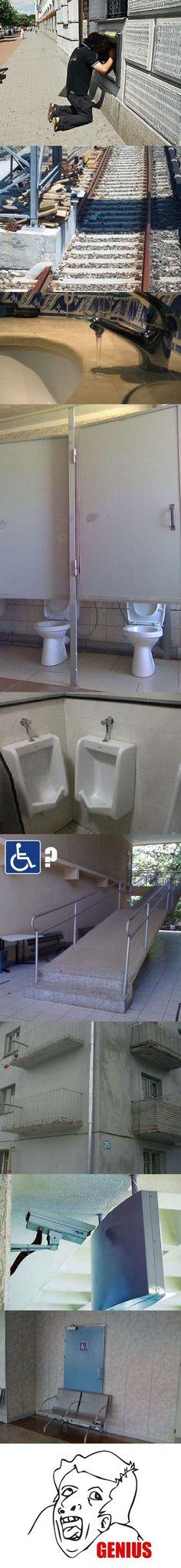 Genius, in a trolling kind of way...