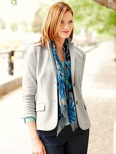 Talbots - Fleur-de-lis Dobby Blazer | | Misses Discover your new look at Talbots. Shop our Fleur-de-lis Dobby Blazer for stylish clothing and accessories with a modern twist at Talbots