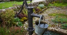 images of old water pumps turned into fountains Water Sources, Homestead Survival, Camping Survival, Emergency Preparedness, Survival Skills, Survival Life, Emergency Water, Survival Items, Dream Homes