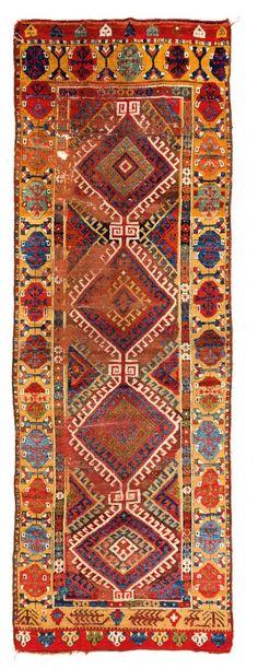Konya Turkey circa 1800 9 ft. 11in. x 3ft. 6in., 303 x 108 cm