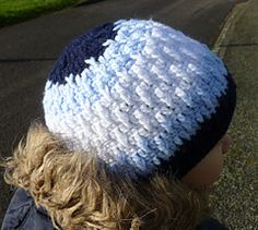 Ravelry: Wavy hat. Three sizes. pattern by Crochet- atelier
