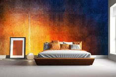 The choice in bespoke Abstract Mural Wallpaper at affordable prices in Fourways and Sandton Wall Papers, Entrance Hall, Blue Mountain, Sunday, Portrait, Abstract, Red, Furniture, Design