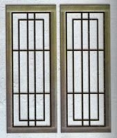 Home Window Grill Design, Window Grill Design Modern, Grill Door Design, Front Door Design, Gate Design, Window Design, Craftsman Style Front Doors, Cottage Front Doors, Bedroom Door Decorations