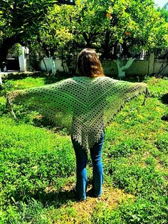 Crochet shawl with Scheepjes Whirl yarn   Cherry Frog