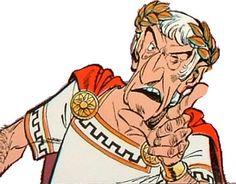 """Gaius Julius Caesar in """"Astérix  Obélix"""""""