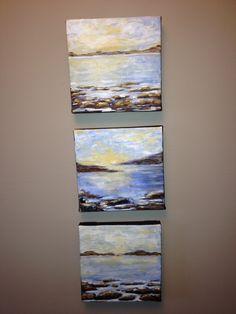 """Georgian Shores 1"" acrylic byCarla mcgillivray"
