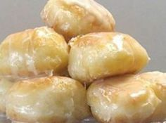 OMG!!! This is a must try for sure, the hole is better than the donut(; Homemade Krispy Kremes Donut Holes Recipe #food