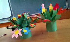 Gift for Mother's Day #flowers #paper #gift #craft #mothersday #spring #kids #handmade